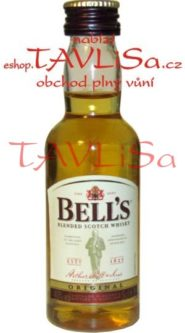 Whisky Bells 40% 50ml scotch miniatura