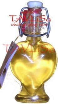 medovina Srdíčko 40ml Apimed dárková miniatura