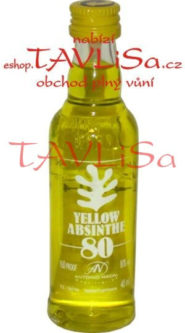 Absinth Yellow 80% 40ml Antonio Nadal miniatura