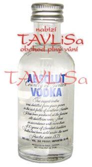 vodka Absolut Clear 40% 50ml miniatura