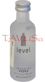 Vodka Level Clear 40% 50ml miniatura