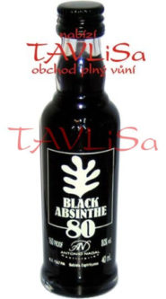Absinth Black 80% 40ml Antonio Nadal miniatura