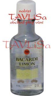 Rum Bacardi Limón original 35% 50ml miniatura