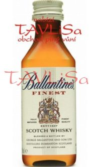 Whisky Ballantines Finest 40% 50ml miniatura
