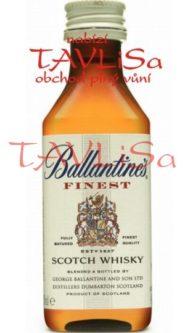 Whisky Ballantines Finest 40% 50ml miniatura