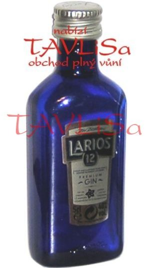 Gin Larios 12 Botanicals 40% 50ml miniatura