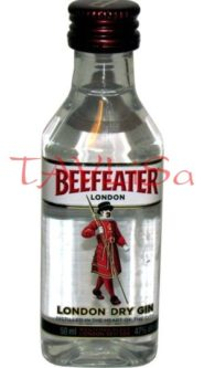 Gin Beefeater Dry 40% 50ml miniatura