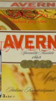likér Averna Amaro Siciliano 32% 20ml x3 miniatura