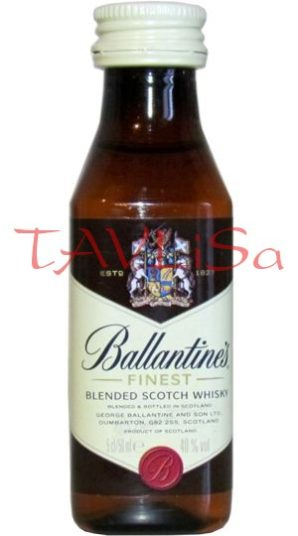 Whisky Ballantines Finest 40% 50ml etik2 miniatura