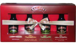 likér Baileys sada 4 druhů v kazetě miniatura