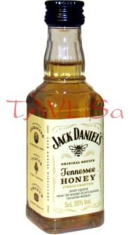whisky Jack Daniels Honey 35% 50ml miniatura