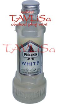 likér Puschkin White 17,7% 40ml miniatura