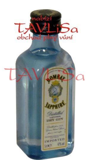 Gin Bombay Sapphire 47% 50ml PET miniatura