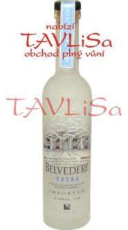 vodka Belvedere Clear 40% 50ml miniatura