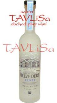 vodka Belvedere Clear 40% 50ml miniatura