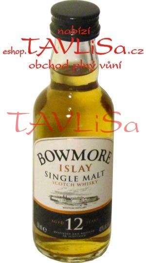 Whisky Bowmore 12 Years 40% 50ml miniatura