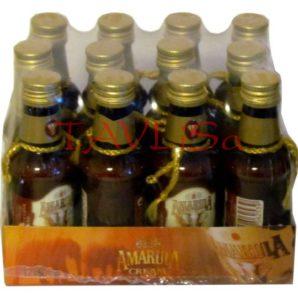 Amarula 17% 50ml x12 marula fruit cream miniatura
