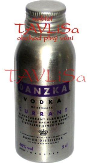 vodka Black Currant 40% 50ml Danzka miniatura