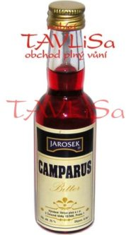 Likér Camparus Bitter 50% 40ml Jarošek miniatura