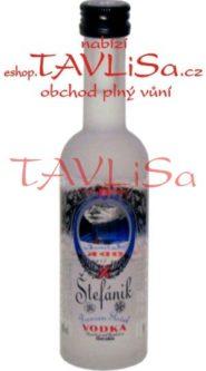 Vodka Štefánik Clear zrcadlo 40% 50ml miniatura
