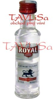 vodka Royal Premium 37,5% 40ml Bols HU miniatura