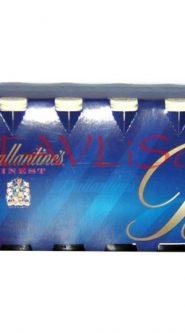 Whisky Ballantines Finest 40% 50ml x12 miniatura