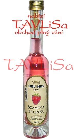 destilát Szamóca Pálinka 50% 40ml Miniatura