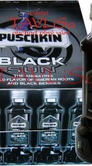 likér Puschkin Black Sun 16,6% 40ml x24 miniatura