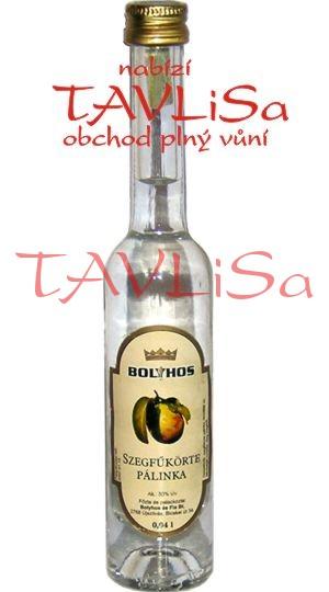 destilát Szegfukorte Pálinka 50% 40ml Miniatura