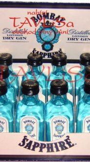Gin Bombay Sapphire 47% 50ml x12 miniatura