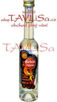 Pálinka Irsai Olivér 40% 40ml Birkás Miniatura