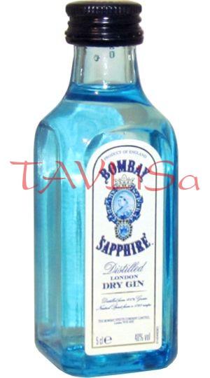 Gin Bombay Sapphire 40% 50ml v sadě s Vodkou mini