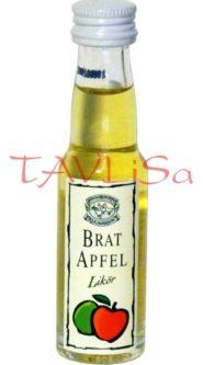 likér Brat Apfel 17% 20ml Horvaths 1/2M sestava 1