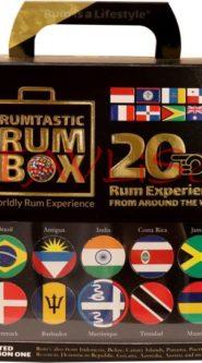 Around The World in 20 Rums x 20ml miniatura