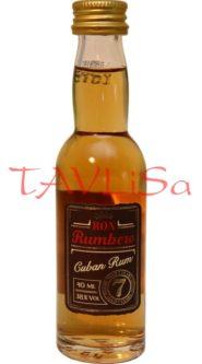 Rum Cuban 7 years 38% 40ml miniatura