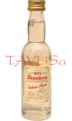 Rum Cuban 3 years 38% 40ml v Sada Ron Rumbero